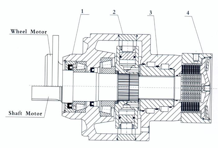 zjm系列低速大扭矩液压马达是内曲线多作用径向柱塞